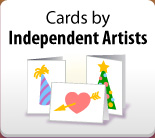 Cards by independent artists
