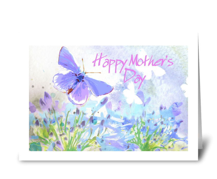 Spring Breeze, Happy Mother's Day greeting card