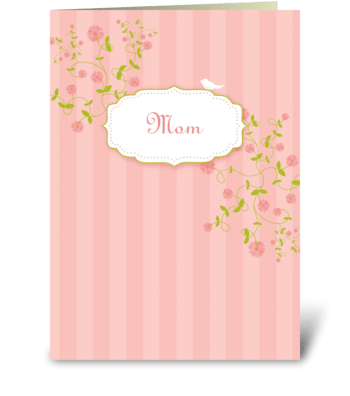Everything a mom should be greeting card
