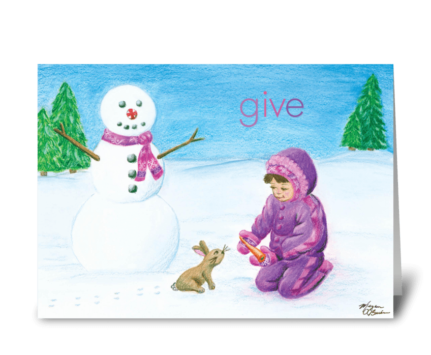Give greeting card