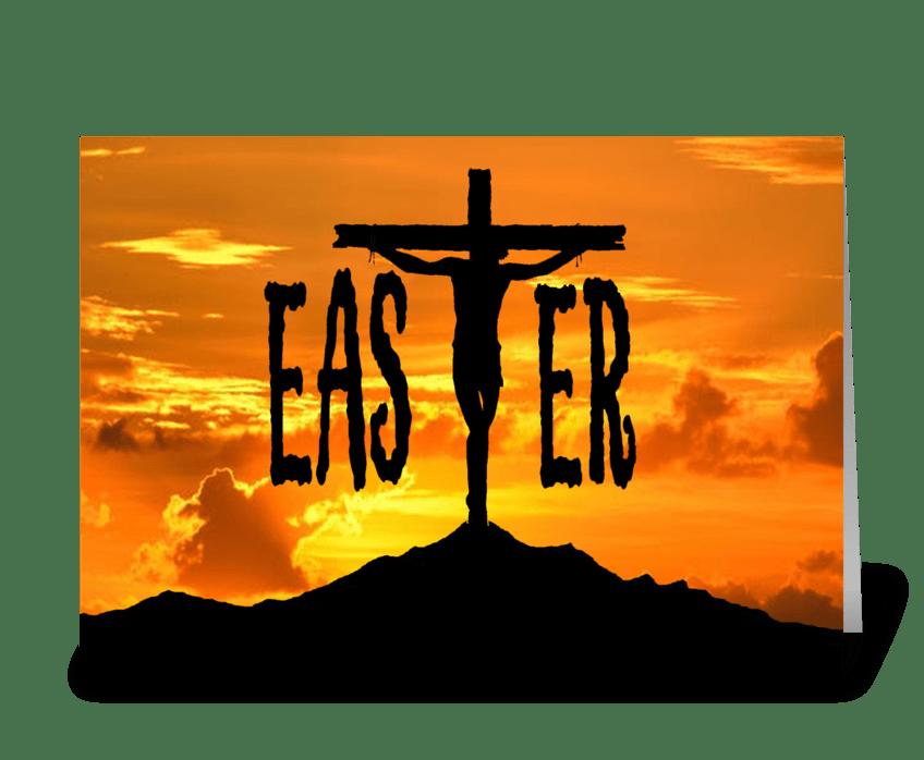 Easter Season greeting card