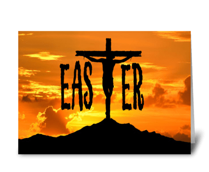Easter Season greeting card