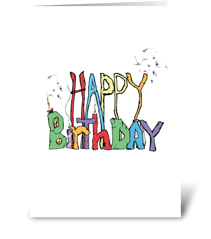 Officially Older greeting card