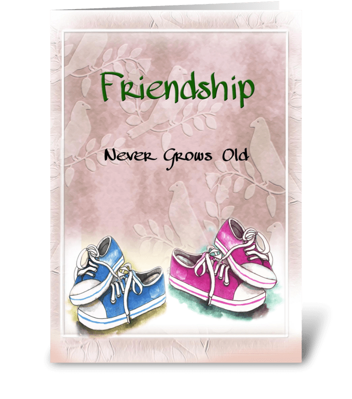 Friendship Greeting greeting card