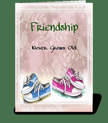 Friendship Greeting greeting card