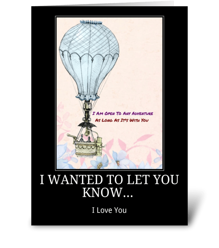 my love for you greeting card