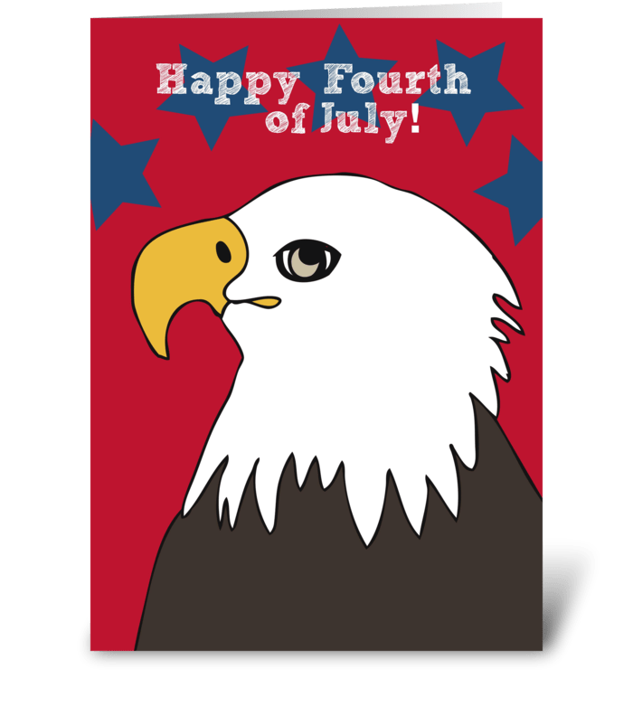Happy Fourth of July! greeting card