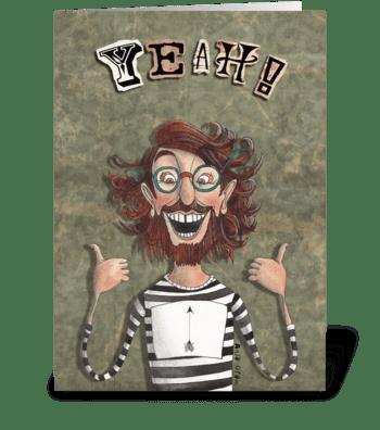 YEAH! greeting card
