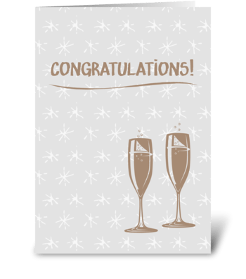 Congratulations! greeting card