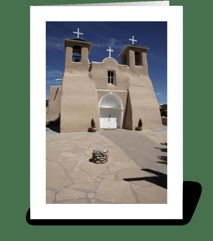 St. Francis de Asis greeting card