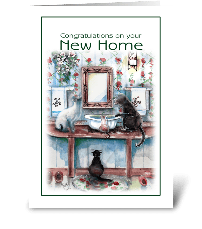 Congratulations , NEW Home greeting card