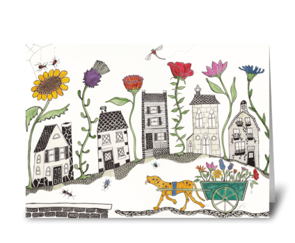 travels greeting card