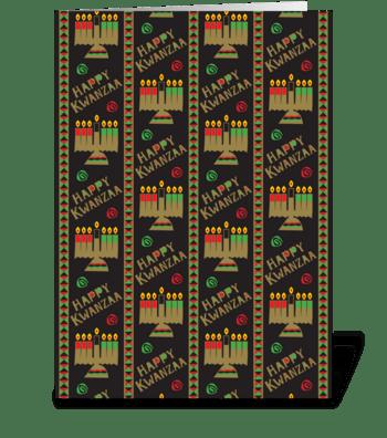 Kinaras greeting card