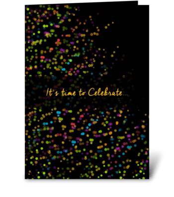 It's time to celebrate greeting card