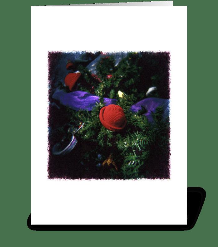 Elf Hat greeting card
