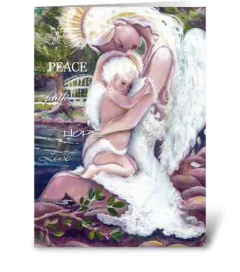 Angels of Hope greeting card