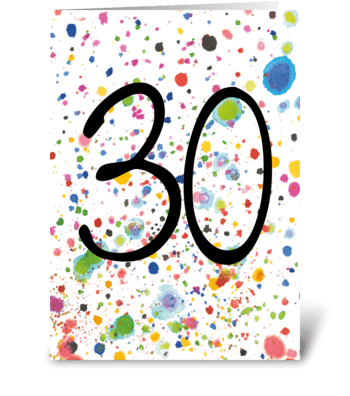 30 card greeting card