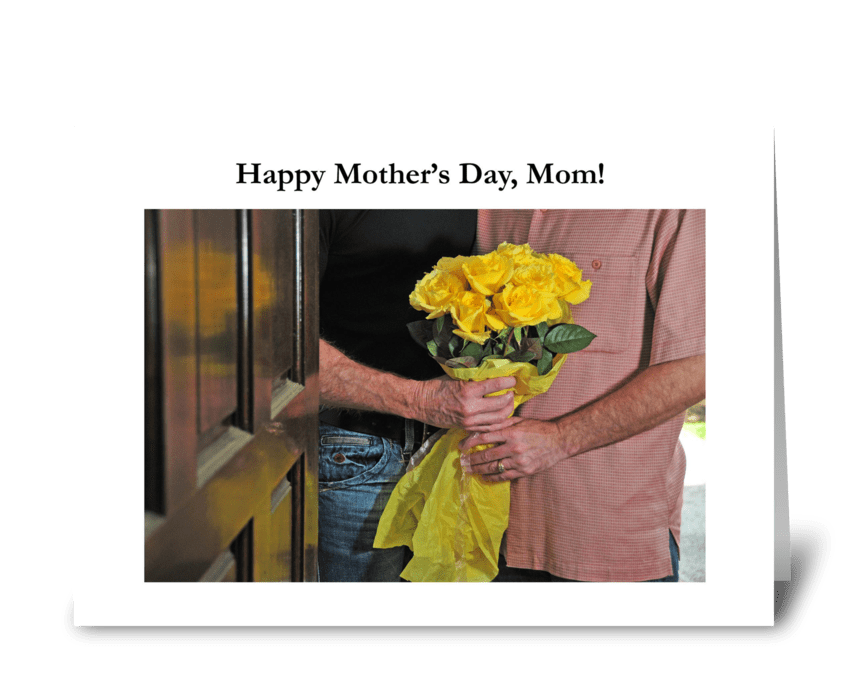 Happy Mother's Day, Mom greeting card