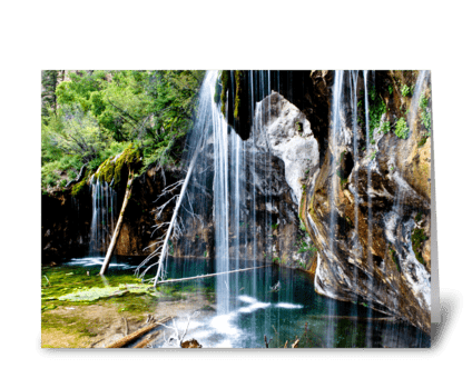 Hanging Lake greeting card