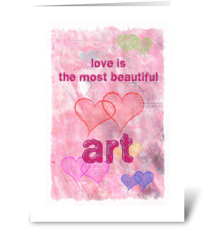 Love is... greeting card