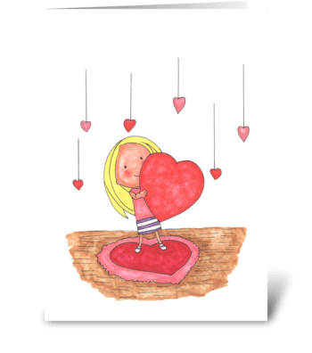 This is how my big my Love is for You!! greeting card