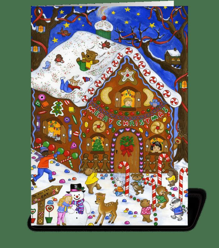 Gingerbread Fun greeting card