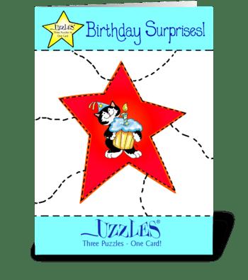 Birthday Surprise! greeting card
