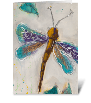 Dragonfly Generic greeting card