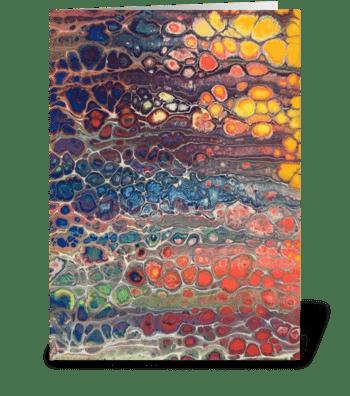 Colour Pop greeting card