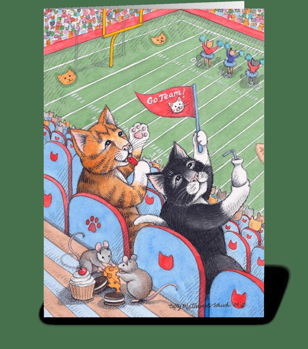 Football Cats Happy Birthday 61