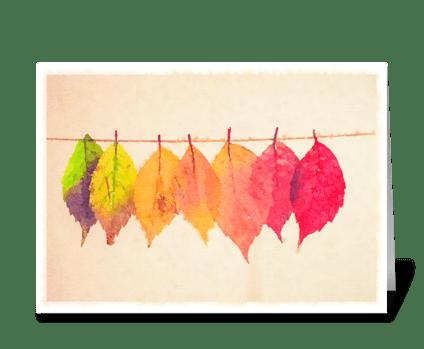 Seasons of Life  greeting card