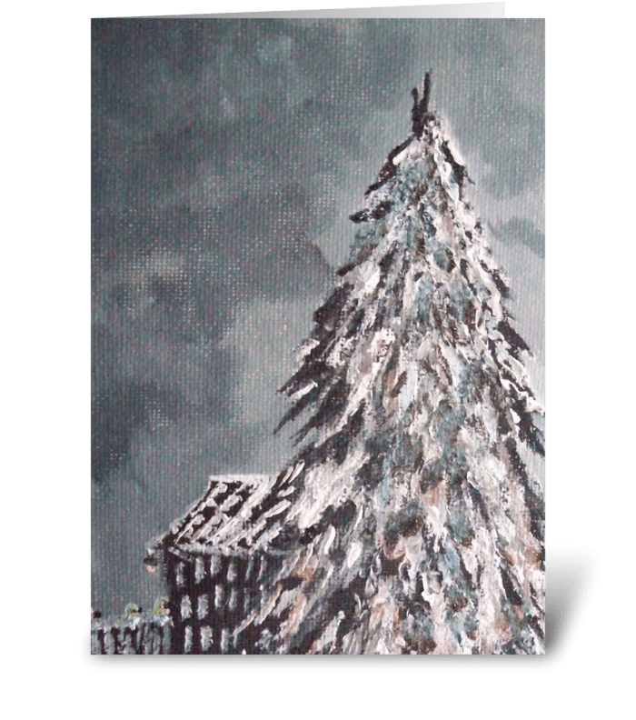 Winter Wonder Art greeting card