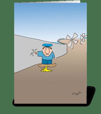 Dutch Boy greeting card