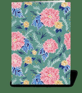 Autumn Botanical greeting card