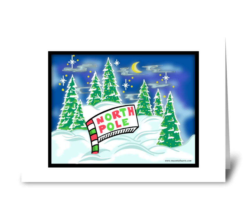 Christmas Season greeting card