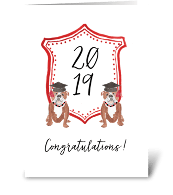 Congratulations Graduate greeting card