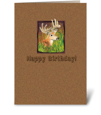 Birthday Card for Guys greeting card