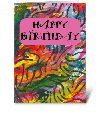 95 Birthday Card greeting card