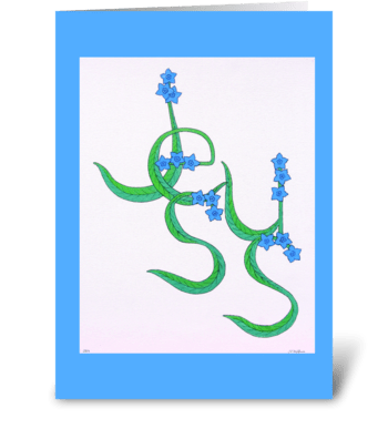 Forget Not greeting card