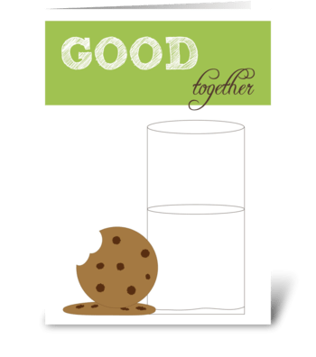 Good Together greeting card
