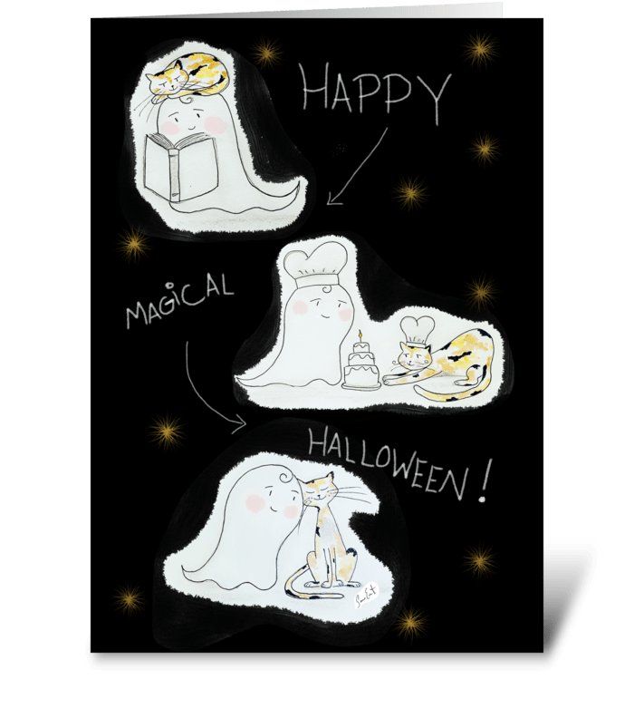 Happy Magical Halloween! greeting card