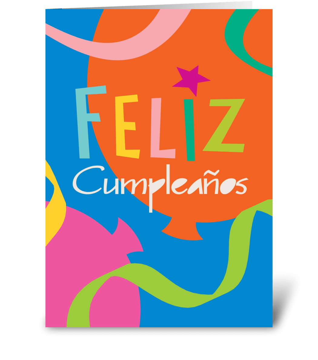 Happy Birthday (Spanish)