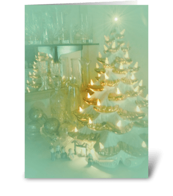 Christmas Memories greeting card