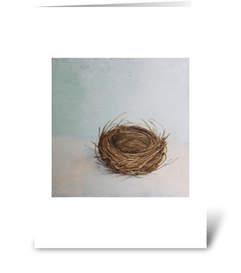 little nest greeting card