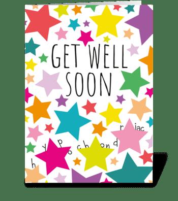 62 Get Well Hypochondriac greeting card