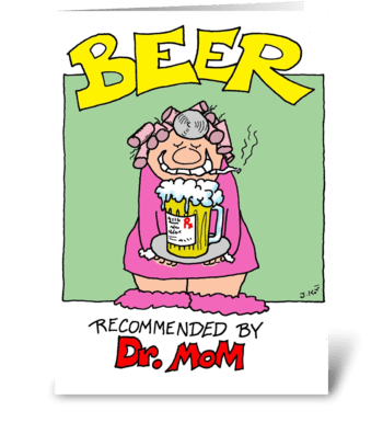 Dr. Mom greeting card