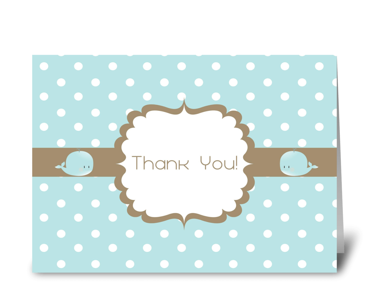 Thank You Baby Shower Card Send This Greeting Card Designed By