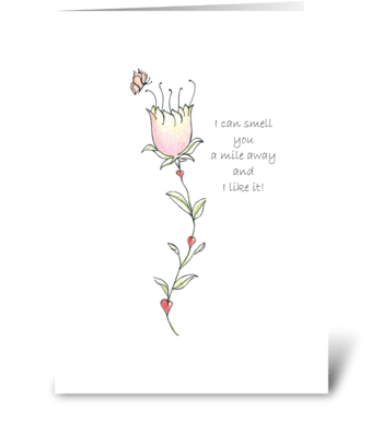 I like it! greeting card