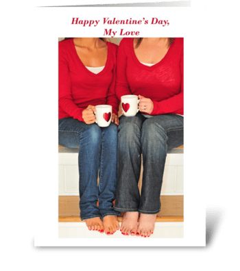 Happy Valentine's Day, My Love greeting card