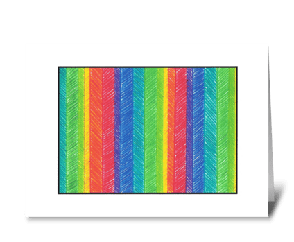 ALL THE COLORS IN THE BOX greeting card